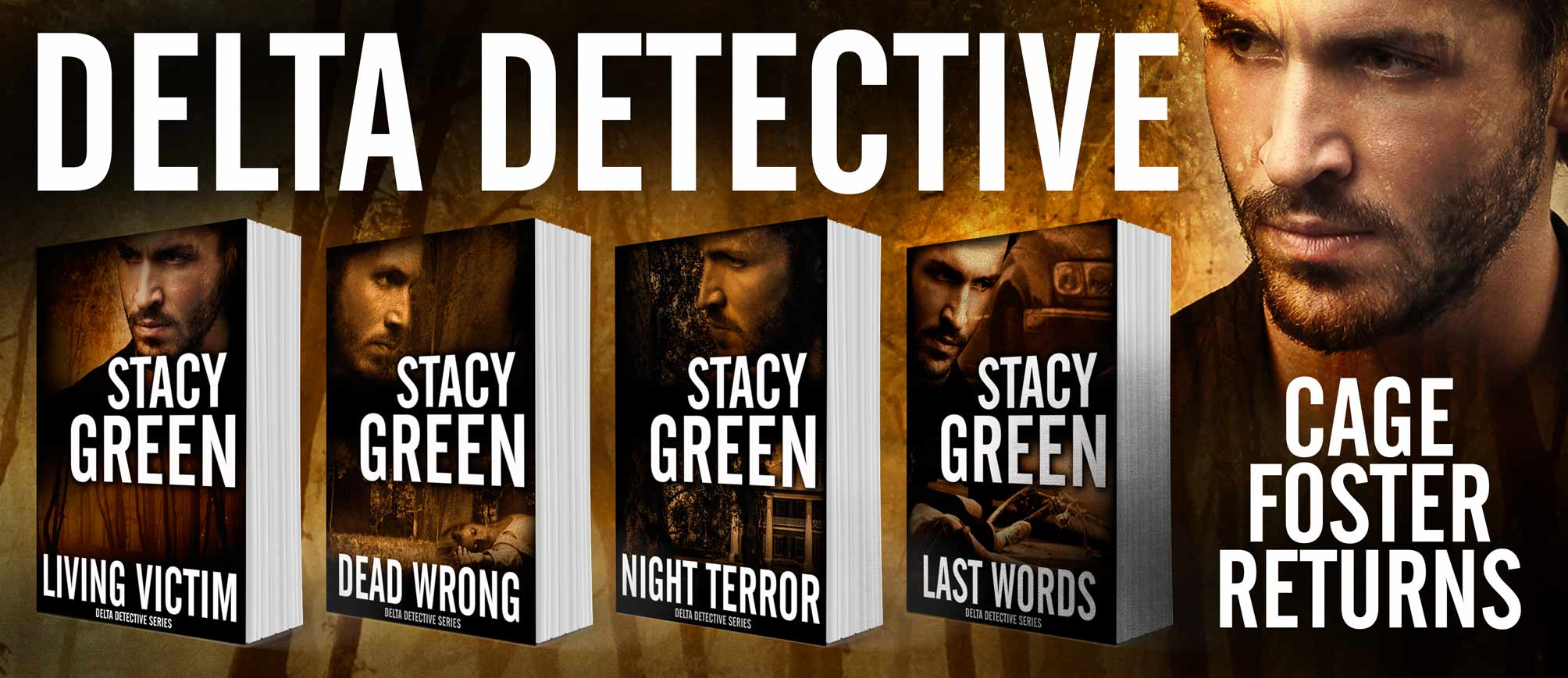 The Delta Detective Series with Cage Foster by Stacy Green